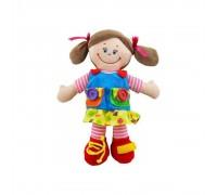 Плюшевая мягкая кукла Baby Mix TE-8081-38Е