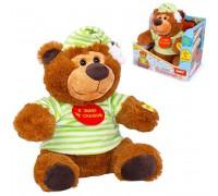 Интерактивная игрушка Fancy Медведь-сказочник 30 см MCHN01M