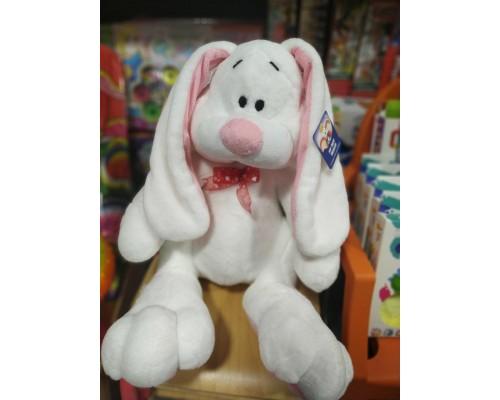 Заяц белый мягкая игрушка 43 см