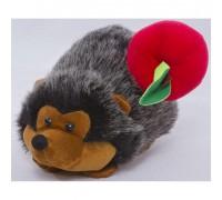 Мягкая игрушка Ёжик с яблоком 00262