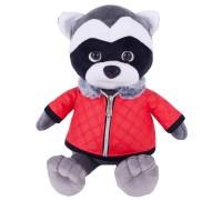Мягкая игрушка Енот Никитка в куртке 001