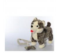 Собака на поводке интерактивная М2141