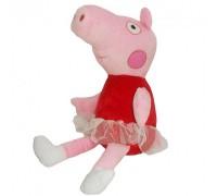 Мягкая игрушка Свинка Пепа балерина 40см 00098-9