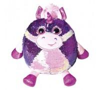 Мягкая игрушка Fancy Единорог Кэлвин с пайетками 28 см POG01