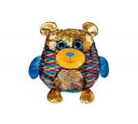 Мягкая игрушка Fancy Мишка Джорджио с пайетками 28 см MOG01