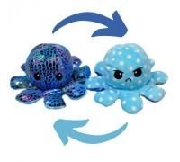 Мягкая игрушка перевёртыш Осьминожка голубой7930-BL