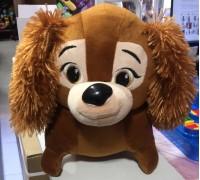 Мягкая игрушка Собака из Леди и Бродяга