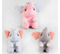 Мягкая игрушка Слоник M 44754 3 цвета