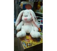 Заяц мягкая игрушка 43 см 6 цветов