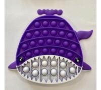 Сенсорная игрушка Pop It антистресс акула