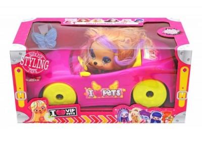 Машинка Vip Pets кабриолет Pet Shop 1015