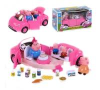 Машина свинки Пеппы YM11-803 со звуком и светом