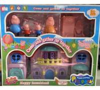 Игровой набор домик Свинки Пеппы YM808-1