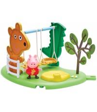 Игровой набор Свинка Пеппа Игровая площадка Пеппы Качели 06149-1