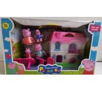 Игровой набор домик Свинки Пеппы YM8015-6