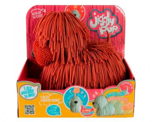 Интерактивная игрушка Jiggly Pup Озорной Щенок JP001-WB-D коричневый