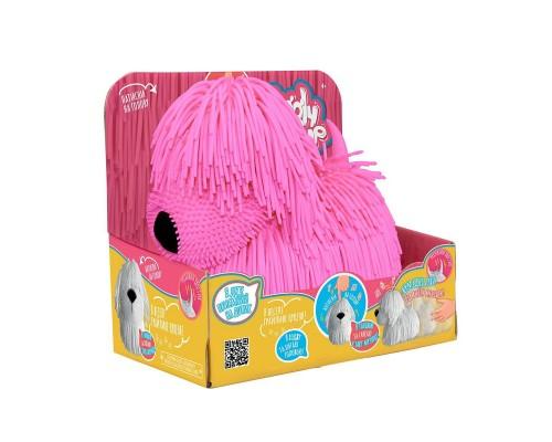 Интерактивная игрушка Jiggly Pup Озорной Щенок JP001-WB-PI розовый