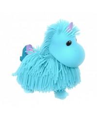 Интерактивная игрушка Jiggly Pup Волшебный Единорог JP002-WB-BL голубой