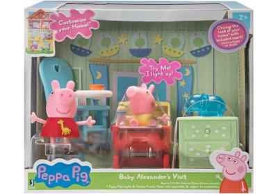 Игровой набор  Peppa Pig В гостях у малыша Александра PEP0493