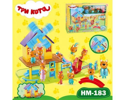 Игровой набор Три кота Детская площадка HIM-183