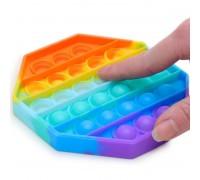 Сенсорная игрушка Pop It ПОП ИТ антистресс восьмиугольник