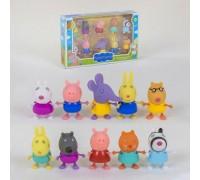 Игровой набор Свинка Пеппа 10 фигурок 5807-2