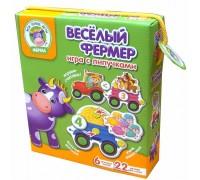 Игра с липучками Веселый фермер VT1310-01