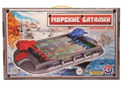Настольная игра ТехноК Морские баталии 1110