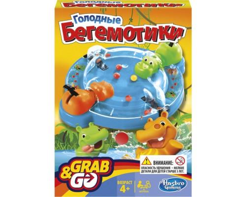 Настольная игра Hasbro Голодные бегемотики В1001