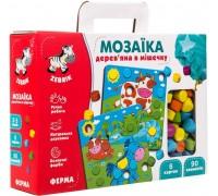 Мозаика деревянная Vladi Toys Ферма ZB2002-01