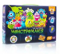 Настольная игра Монстромания с липунами Vladi Toys VT8044-23