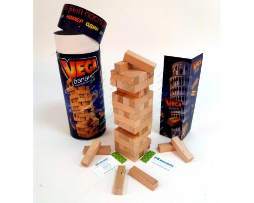 Vega в тубусе настольная игра Danko Toys