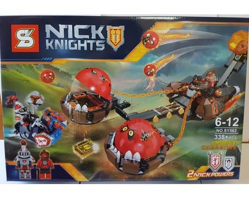 Конструктор Lepin Nexo Knight SY562 Безумная колесница