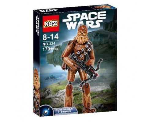 """Конструктор KSZ 324 Звездные Войны (аналог LEGO Star Wars 75530) """"Чубакка"""" 179 деталей"""