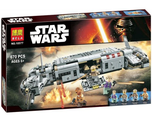 Конструктор Bela Звездные войны 10577 Военный транспорт Сопротивления