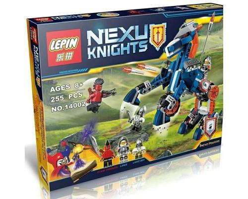 Конструктор Lepin Nexo Knights 14002 Ланс и его механический конь