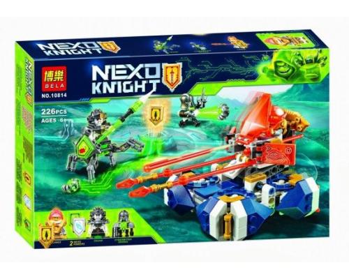 Конструктор Bela 10814 Nexo Knight Подъемная боемашина Ланса