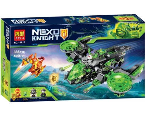 Конструктор Bela 10816 Nexo Knight Бомбардировщик Берсеркер
