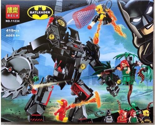 Конструктор Bela 11234 Робот Бэтмена против робота Ядовитого Плюща