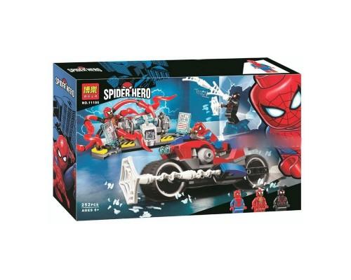 Конструктор Bela 11186 Человек паук Спасательная операция