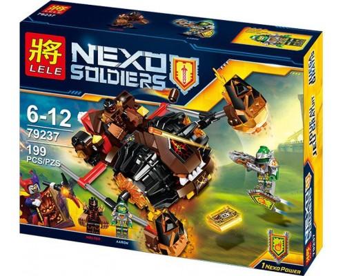 Конструктор Lele Nexo Knights 79237 Лавинный разрушитель Молтора