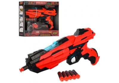 Бластер Qunxing Toys 6-зарядный FJ833