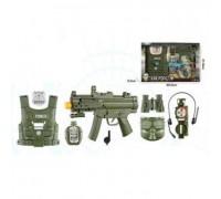 Игровой набор оружия с бронижилетом и маской F8528-6A