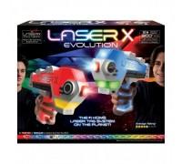 Игровой набор лазерных бластеров Laser X EVOLUTION для двух игроков 88908