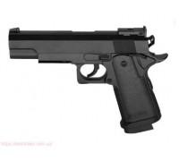 Пистолет металлический на пульках ZM26