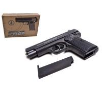 Пистолет металлический на пульках ZM06