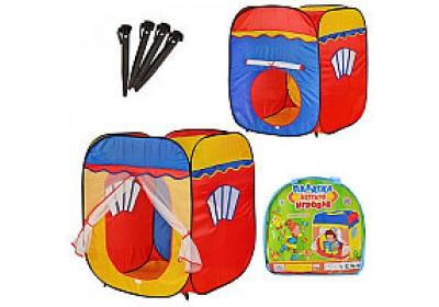 Палатка детская игровая Куб М1402