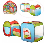 Палатка детская игровая с тоннелем М2503