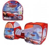 Палатка детская игровая с тоннелем Тачки 8015С