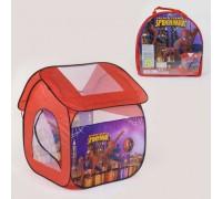 Палатка детская игровая Человек паук 8009